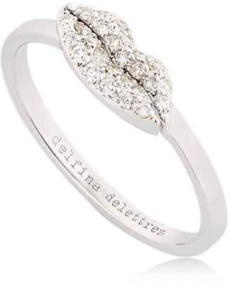 Delfina Delettrez Kiss Me Diamond Ring