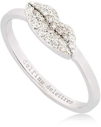 Delfina Delettrez Kiss Me Diamond Ring