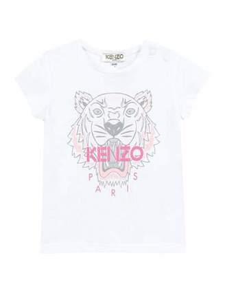 4bf0c137d Kenzo Tiger Logo Printed T-Shirt, Size 12-18 Months