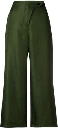 Christian Wijnants cropped wide leg trousers