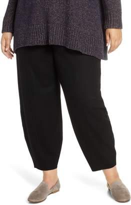 Eileen Fisher Wool Lantern Pants