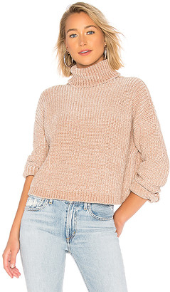 Blank NYC BLANKNYC Chenille Turtleneck Sweater