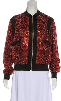 Balmain Embellished Bomber Jacket
