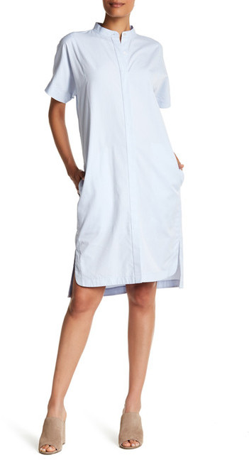 DKNY DKNY Short Sleeve Button Dress