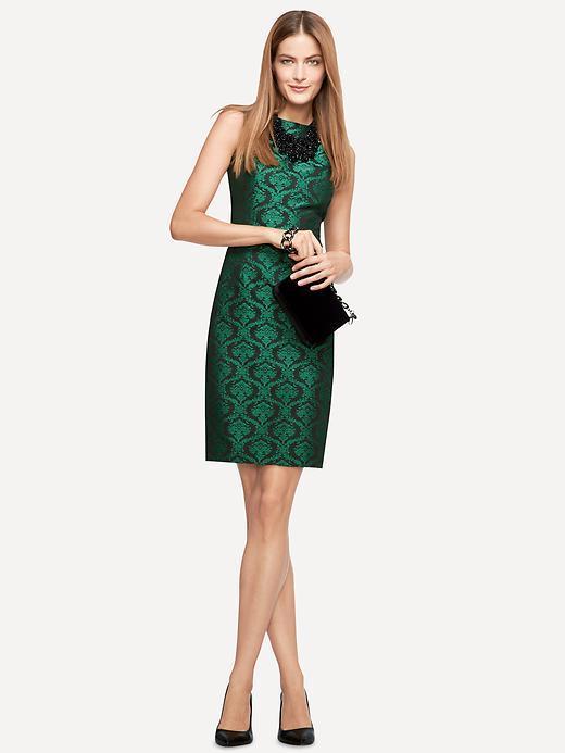 L'Wren Scott Collection Jacquard Shift Dress