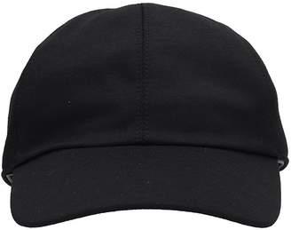 Ermenegildo Zegna Black Wool Hat
