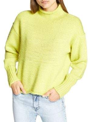 Sanctuary Curl Up Long-Sleeve Sweater