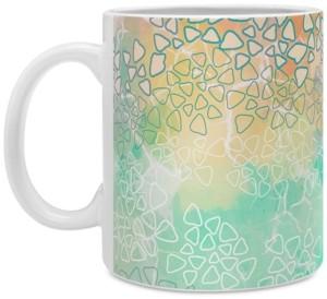 Deny Designs Marta Barragan Camarasa Abstract Triangles Coffee Mug