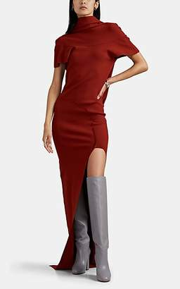 Rick Owens Women's Theresa Draped-Back Gown - Red