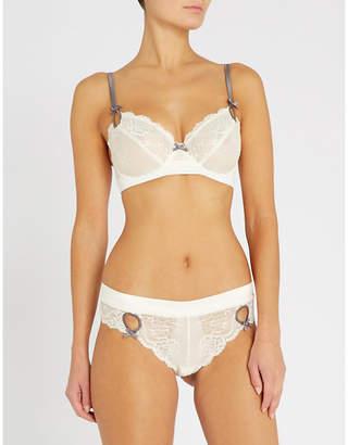 Heidi Klum Intimates Zoe stretch-lace underwired bra