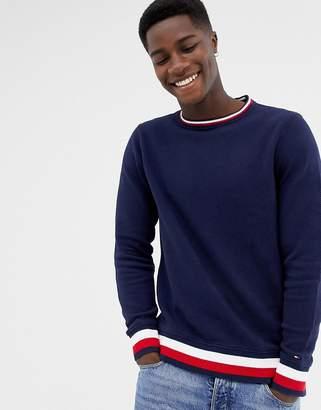 Tommy Hilfiger crew neck striped sweater