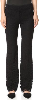 Ella Moss Trello Lace Pants $178 thestylecure.com