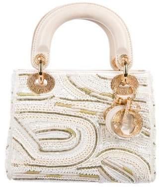 Christian Dior Mini Lady Bag gold Mini Lady Bag