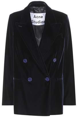 Acne Studios Jara velvet blazer