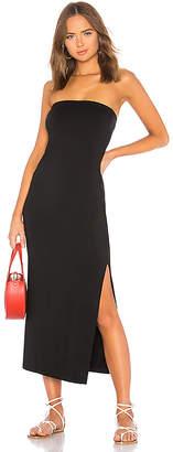 Enza Costa Side Slit Dress