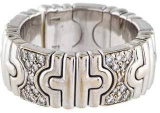 Bvlgari 18K Diamond Parentesi Ring