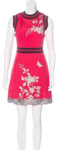 GucciGucci Fall 2016 Embroidered Dress
