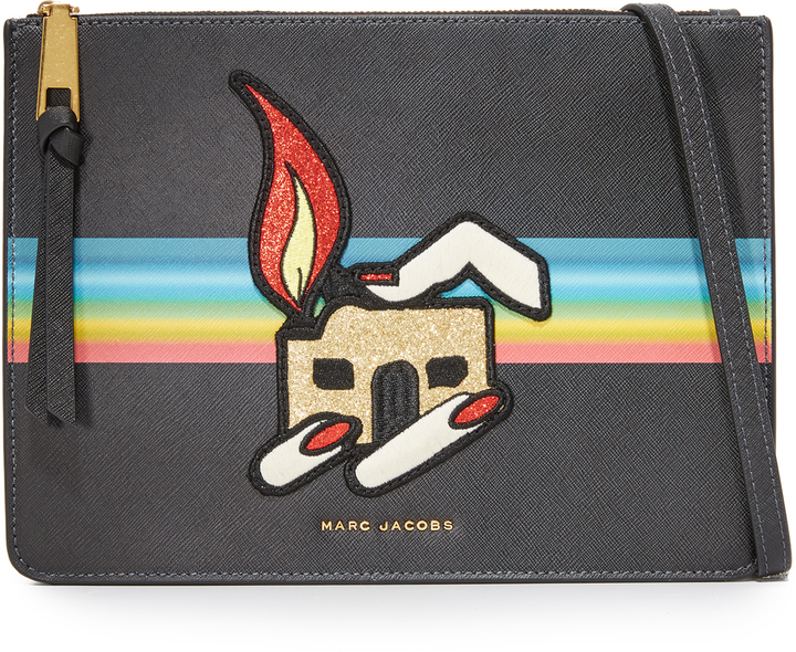 Marc Jacobs Marc Jacobs Flat Cross Body Bag