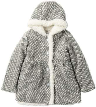 WIDGEON Faux Fur Trim Coat (Toddler Girls)