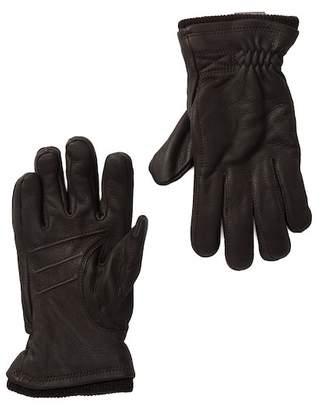 Hestra Deerskin Swisswool Rib Cuff Gloves