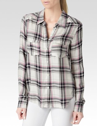 Mya Shirt - Cream/Evening Blue/Orchid $169 thestylecure.com