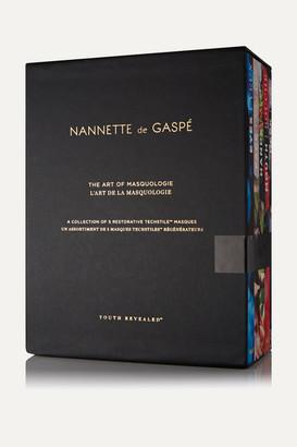 Nannette de Gaspé - Art Of Masquologie - Set Of 5 Masques