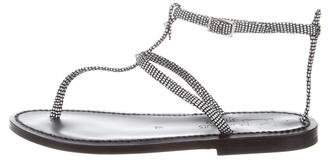 K Jacques St Tropez Thebes Wrap Sandals