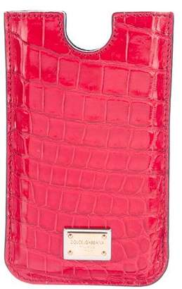 Dolce & Gabbana Alligator iPhone 4 Case