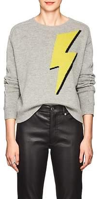 Robert Rodriguez Women's Lightning Bolt Wool-Cashmere Sweater