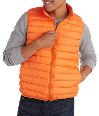 Generic Big Men's Packable Faux Down Vest