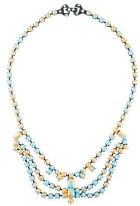 Tom Binns Gilded Pleasure Collar Necklace