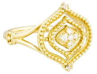 Judith Ripka 18K Diamond Stella Ring