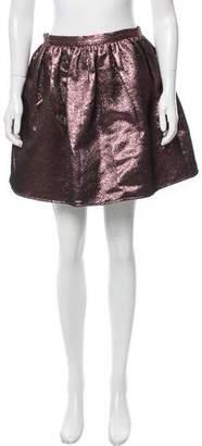 Opening Ceremony Brocade Mini Skirt