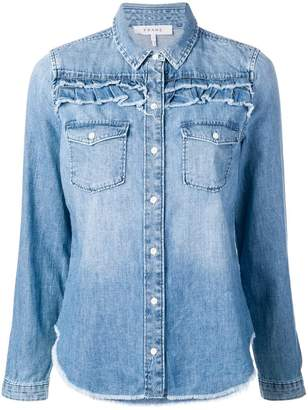 Frame longsleeved denim shirt