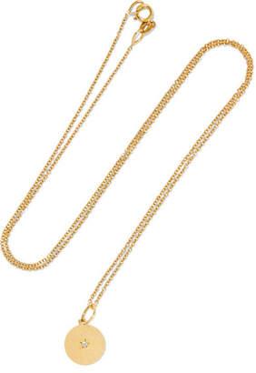 Andrea Fohrman Full Moon 18-karat Gold Opal Necklace