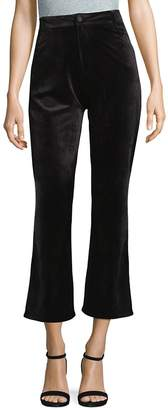 Goldie Women's Velvet Cropped Pants