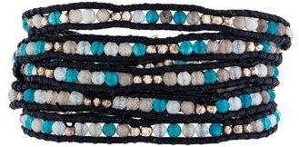 Chan LuuChan Luu Quartz Station Wrap Bracelet