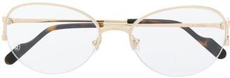 Cartier C Décor glass frames