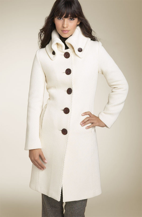 Long White Winter Coat - Tradingbasis