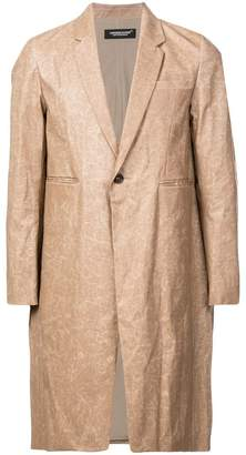 Undercover single breasted coat
