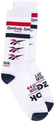 Reebok logo socks