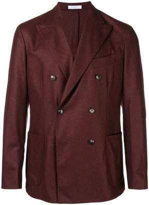 Boglioli double-breasted woven blazer