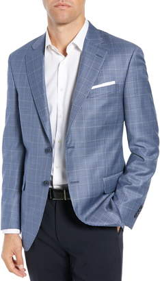 Peter Millar Classic Fit Houndstooth Sport Coat