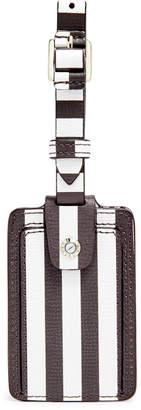 Henri Bendel Centennial Stripe Bag Tag