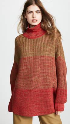 Vika Gazinskaya Oversize Colorblock Sweater