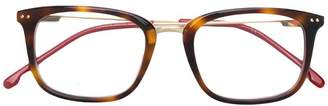 Carrera tortoiseshell square frame glasses