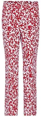 Oscar de la Renta Printed trousers