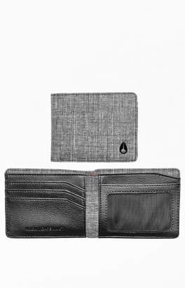 Nixon Black & Gray Cape Multi Wallet