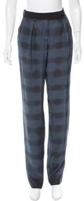 Cédric Charlier Mid-Rise Silk Pants w/ Tags