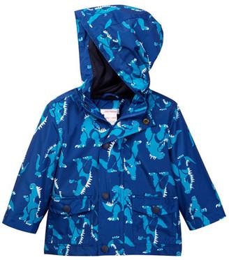 Joe Fresh Allover Print Rain Jacket (Baby Boys) $29 thestylecure.com